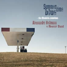 Alessandro Hellmann - Summertime Blue - cd cover